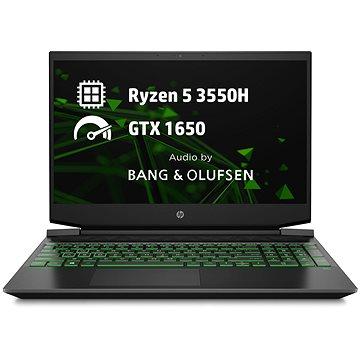 HP Pavilion Gaming 15-ec0007nc Shadow Black Green (8RS11EA#BCM)