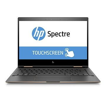 HP Spectre 13 x360-ae001nc Touch Dark Ash Silver (2ZG56EA#BCM) + ZDARMA Pouzdro na notebook HP Spectrum sleeve Gravity Black 13.3""
