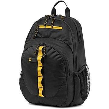 HP Sport Backpack Black / Yellow 15.6 (F3W17AA#ABB)