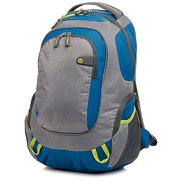 HP Outdoor Sport Backpack Blue / Green 15.6 (F4F29AA#ABB)