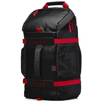 HP Odyssey Backpack Black / Red 15.6 (X0R83AA#ABB)