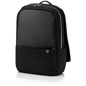 """HP Pavilion Accent Backpack Black/Gold 15.6"""" (4QF96AA#ABB)"""