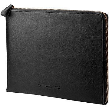 HP Spectre Black Leather Sleeve (Zipper) 13.3 (W5T46AA#ABB)