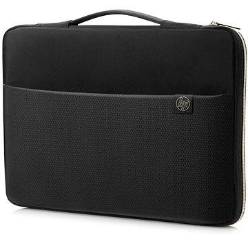 """HP Carry Sleeve Black/Gold 14"""" (3XD33AA#ABB)"""