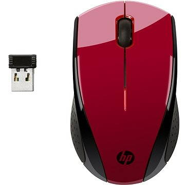 HP Wireless Mouse X3000 Sunset Red (N4G65AA#ABB)