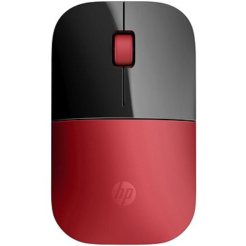 HP Wireless Mouse Z3700 Cardinal Red (V0L82AA#ABB)