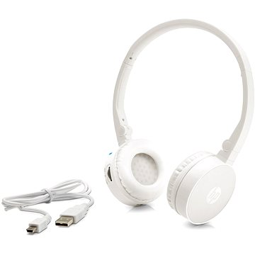 HP Wireless Stereo Headset H7000 White (G1Y51AA#ABB)