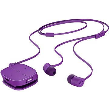HP stereo Bluetooth Headset H5000 Neon Purple (J2X02AA#ABB)