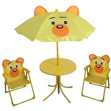 Happy Green Piknikový dětský set BEAR (50140503)
