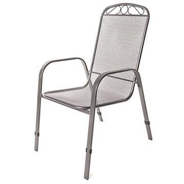 Happy Green Židle zahradní ocelová (5032120-A)