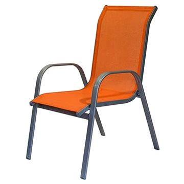 Happy Green Židle zahradní, oranžová (50XG5005O)