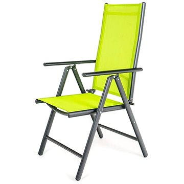 Happy Green Židle zahradní polohovací RAMADA, světle zelená (50320500LB)