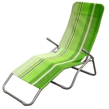 Happy Green Plážové lehátko zelený pruh (50F2031GS)