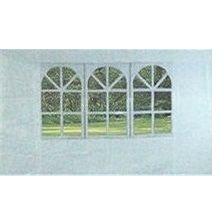 Vetro-Plus Bočnice k zahradnímu altánu s oknem, bílá (50ZJ10292)