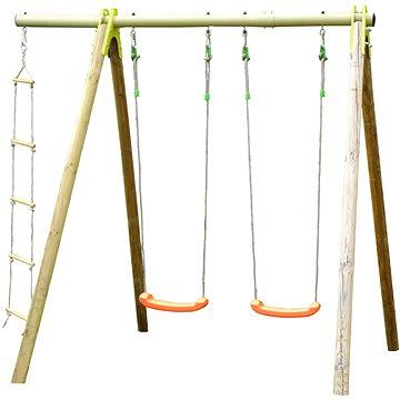 Trigano Houpačka se 2 sedátky a provazovým žebříkem (3222872053008)
