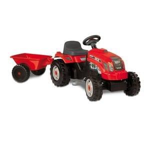Šlapací traktor Bull s vlekem (3032160330458)
