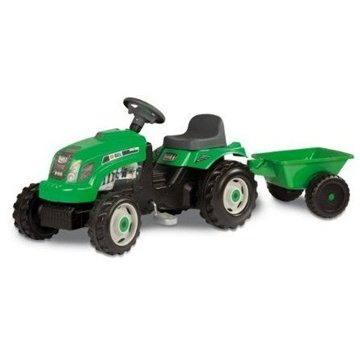 Šlapací traktor Bull s vlekem (3032160333299)