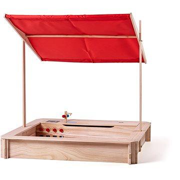 Woody Dřevěné pískoviště s kuchyňkou (8591864103119)