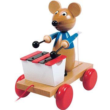 Woody Tahací myš s xylofonem (8591864901975)