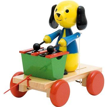 Woody Tahací pes s xylofonem (8591864902026)
