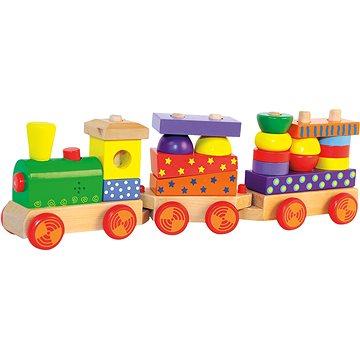 Woody Skládací vlak se světlem (8591864908400)