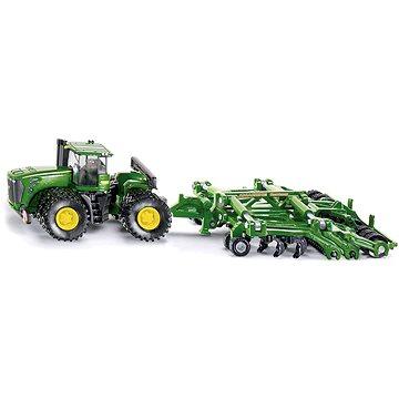 Siku Farmer - Traktor John Deere 9630 s bránami Amazone Centaur (4006874018567)
