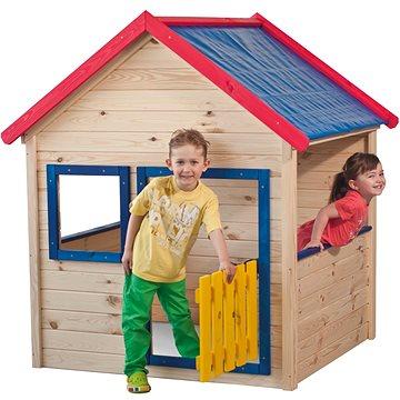 Woody Zahradní domeček s barevným lemováním (8591864101108)
