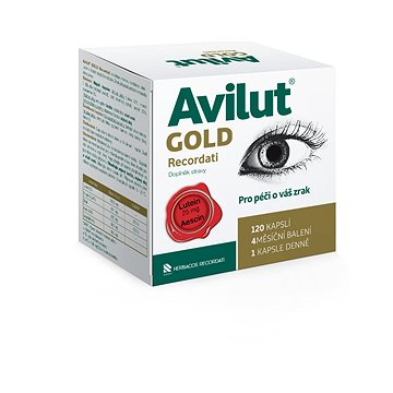 AVILUT® Gold Recordati cps. 120 (3471472)
