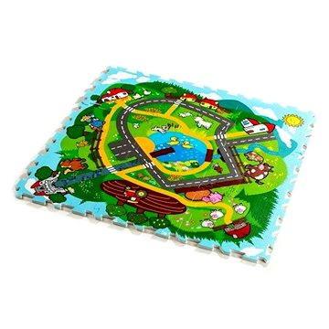 Teddies Pěnové puzzle Město (8592195130010)