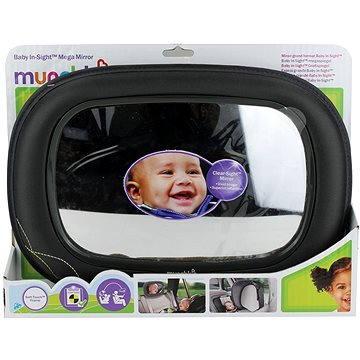 Munchkin – Zpětné zrcátko Baby In–Sight™ Mega šedé (5019090120548)