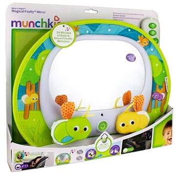 Munchkin – Zpětné zrcátko s hudbou Baby In–Sight™ Světlušky (50190905120647)
