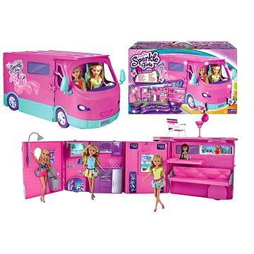 Alltoys Sparkle Girlz Karavan obytný pro panenky (884978750897)