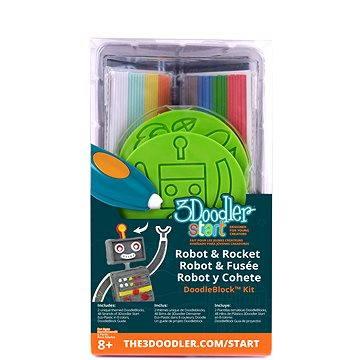 3Doodler Start – DoodleBlock Robot & Rocket (3DS-DBK-RO-R)