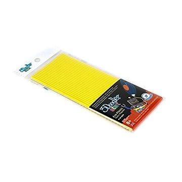 3Doodler Eco-Plastic Yellow (3DS-ECO04-YELLOW-24)