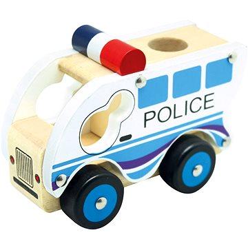 Bino Drevené auto polícia(4019359840829)