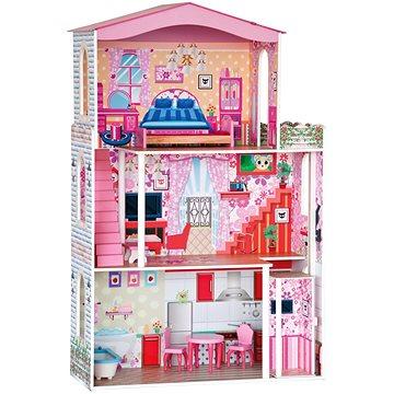 Woody Domeček pro panenky s nábytkem (8591864911639)