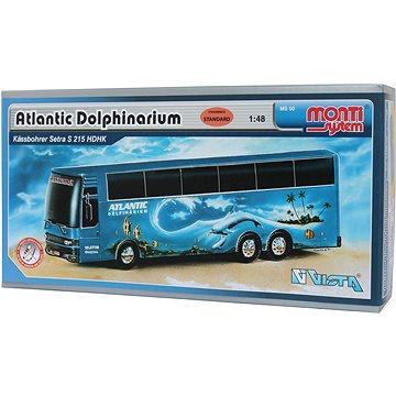 Monti system 50 - Atlantic Delfinarium Bus měřítko 1:48 (8592812102208)