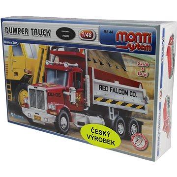 Monti system 44 - Dumper Truck Western star měřítko 1:48 (8592812101508)