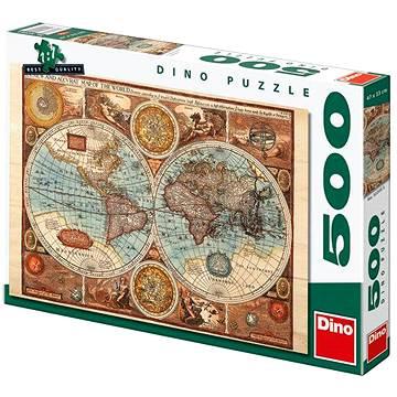 Mapa sveta z roku 1626 (8590878502086)
