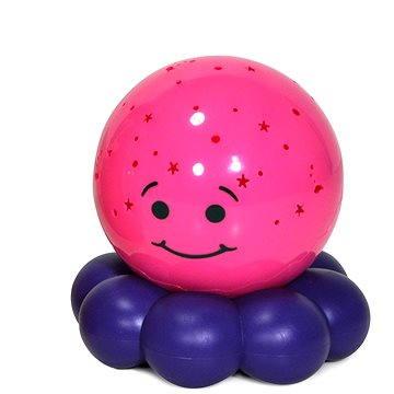 Cloud B Zářící chobotnička - fialová (872354009929)