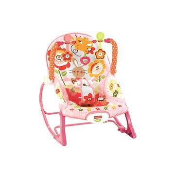 Fisher-Price - Sedátko od miminka po batole růžové (746775248710)