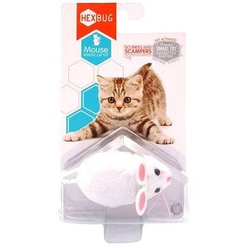 Hexbug - Robotická myš bílá (807648040814)