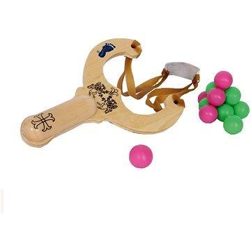 Dřevěné hračky - Prak s kuličkami (4020972063571)