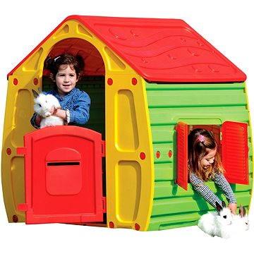 Domeček Magical s červenou střechou (8590669169436)