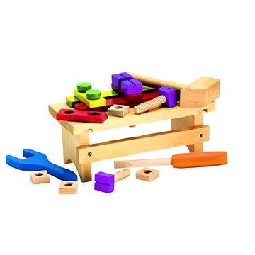 Simba Dřevěný pracovní stolek s příslušenstvím (4003046018462)