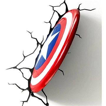 Philips 3D Světlo na zeď - Štít Captain America (8718696124161)