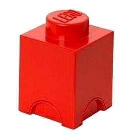 LEGO Úložný box 125 x 127 x 180 mm - červený (5706773400102)