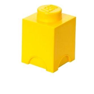 LEGO Úložný box 125 x 127 x 180 mm - žlutý (5706773400126)