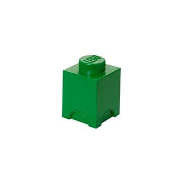 LEGO Úložný box 125 x 127 x 180 mm - tmavě- zelený (5706773400140)