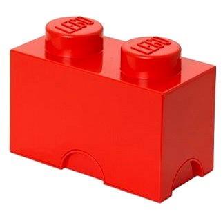 LEGO Úložný box 125 x 250 x 180 mm - červený (5706773400201)